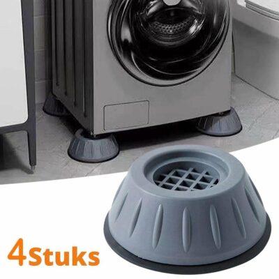 Wasmachine Dempers | Wasmachine Verhoger | Trillingsdempers Wasmachine | Geluidsdemper 4 Stuks | Te Gebruiken Voor Wasmachine En Droger