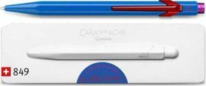 Caran d'Ache 849 Claim Your Style Limited Edition Balpen - Cobalt Blue