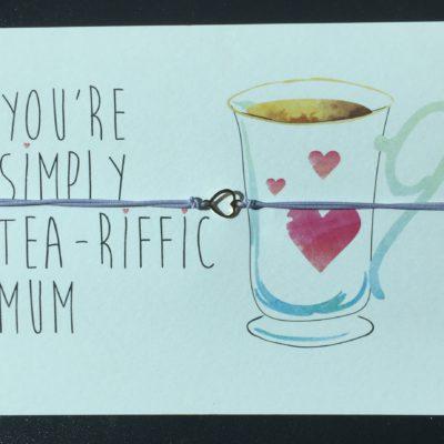 Tea-riffic kaart!