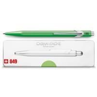 Groen-stylo-bille-849-popline-vert-fluo-avec-etui