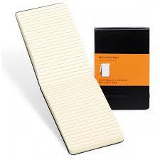 Moleskine Reporter Notebook Ruled Large
