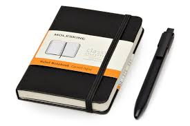 notebook and pen pack