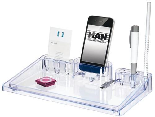 Buro-organizer HAN i-Step transparant