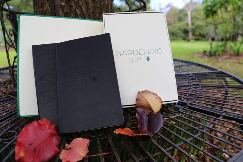 Moleskin Garden Box