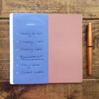 Moleskine chapter journal