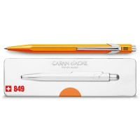 oranje-stylo-bille-849-popline-orange-fluo-avec-etui